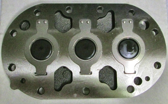 3D Discus Delta Valve Plate 998-2661-43 Copeland Copelametic Compressors Refrigeration Air Conditioning